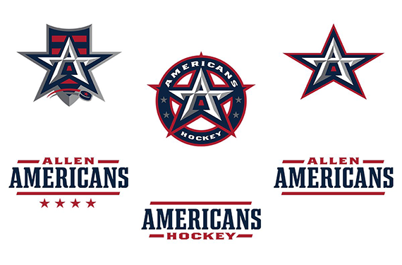 Allen Americans unveil evolved logo set