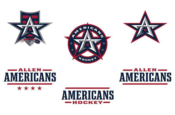 Allen Americans unveil evolved logo set