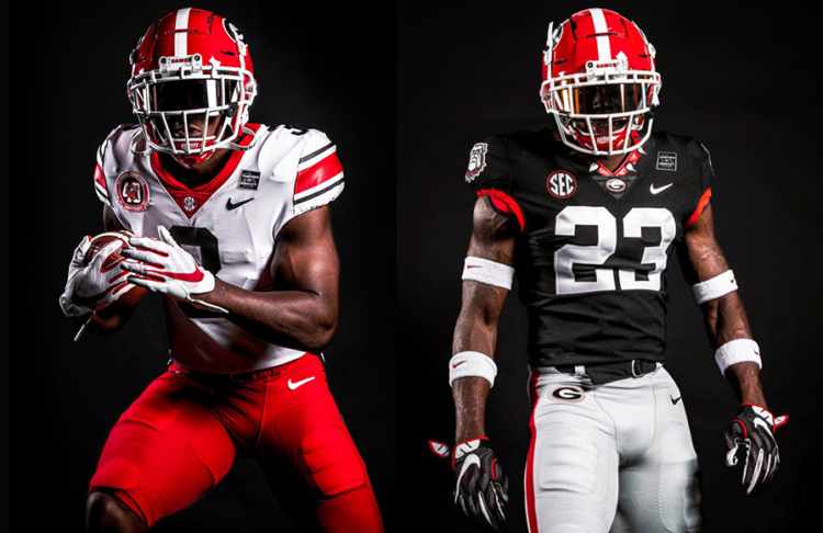 Georgia Bulldogs Reveal Throwback Road New Black Alternate Uniforms SportsLogos Net News