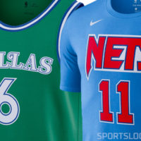 Mavs Green, Nets Tie-Dyes Highlight NBA's Throwback ...