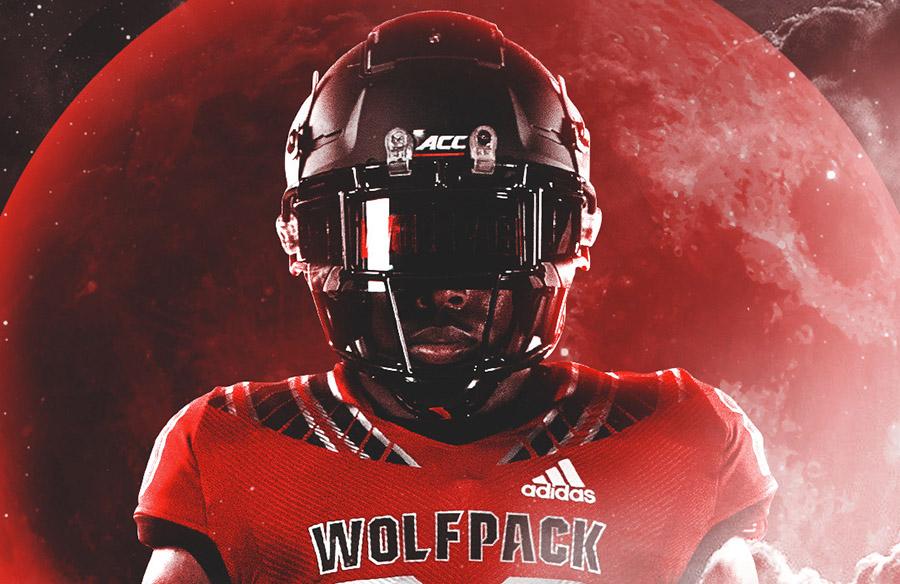 "N.C. State Wolfpack Unveil ""Blood Moon"" Alternate Uniforms"