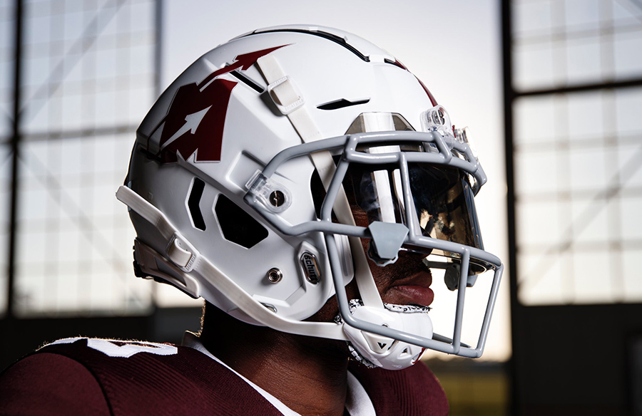 "Mississippi State Bulldogs Unveil Flying ""M"" Throwback Uniforms"