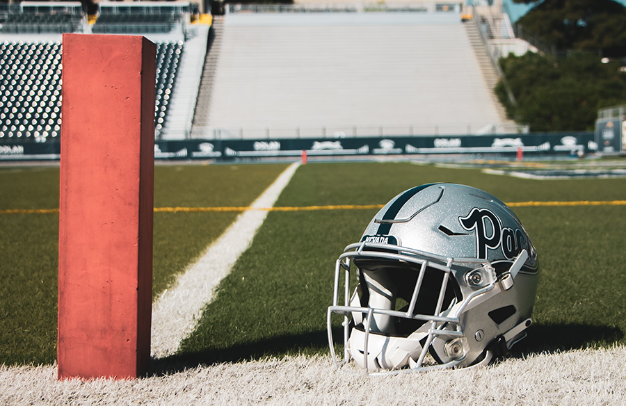 Nevada Wolf Pack Reveal New Silver Helmet