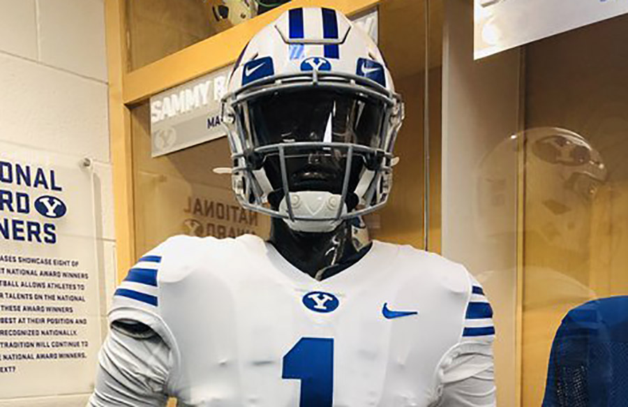 BYU To Wear Gifford Nielsen-Era Uniform Combination At Houston