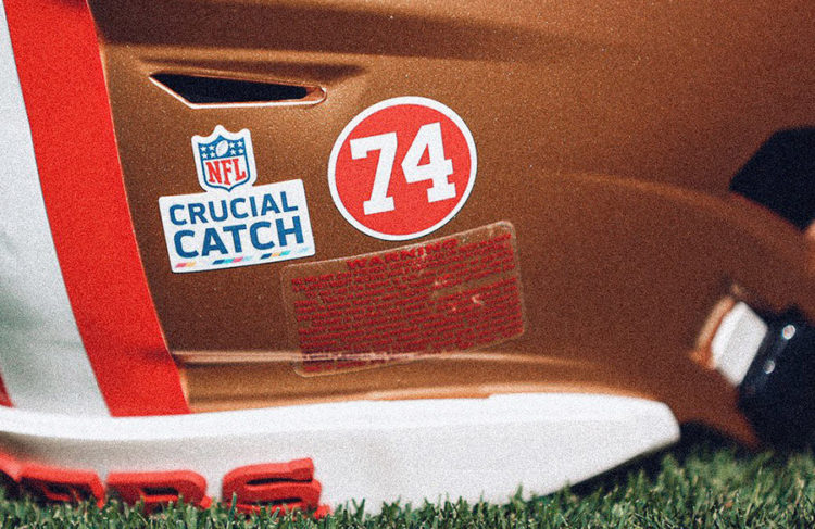 San Francisco 49ers To Wear Helmet Decal In Honor Of Hall Of Fame Defensive End Fred Dean Sportslogos Net News