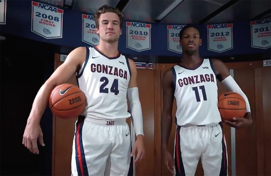 Gonzaga Bulldogs Unveil New Basketball Uniforms, Alternate Jersey Leaks