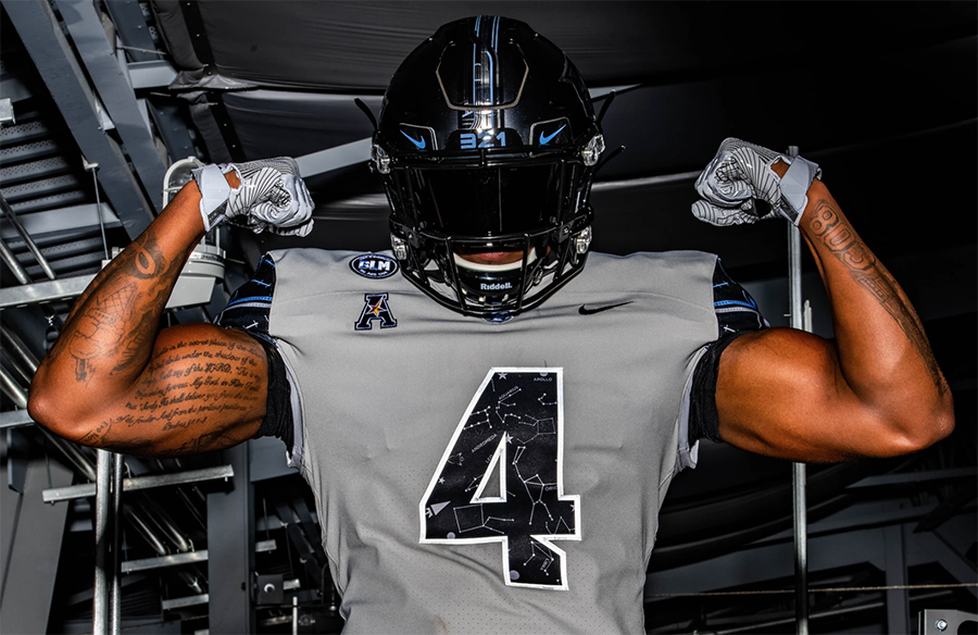 UCF Knights Unveil New Space-Themed Alternate Uniforms