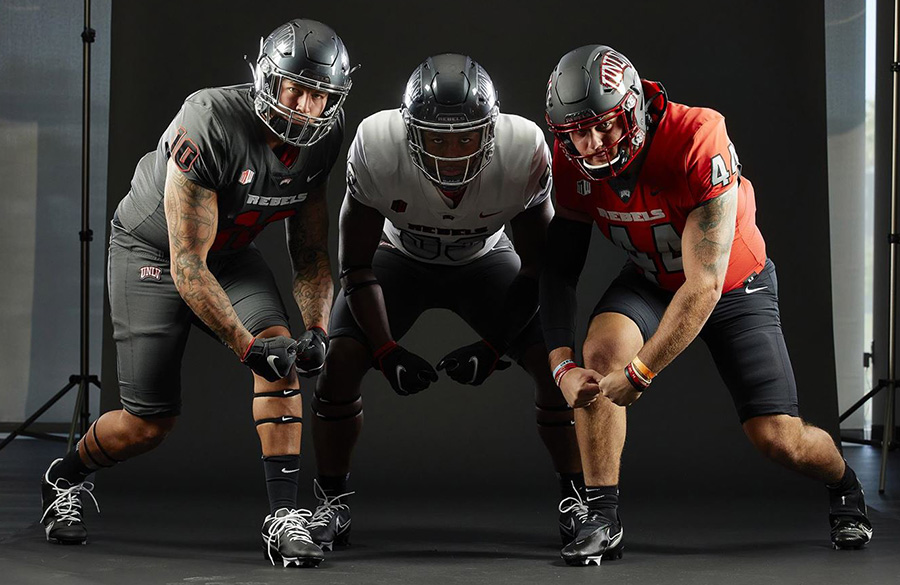 UNLV Rebels Unveil New Uniforms