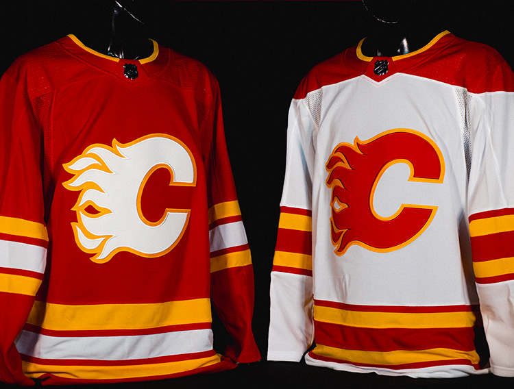 "Calgary Flames Go ""Full Retro"" with New Uniforms for 2021"