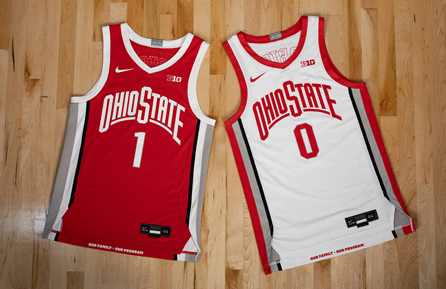 Ohio State Buckeyes Unveil New Men's, Women's Basketball Uniforms