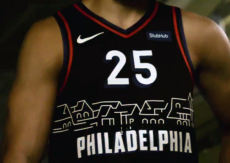 Sixers Unveil New Black Uniform, Simmons Gets His Wish