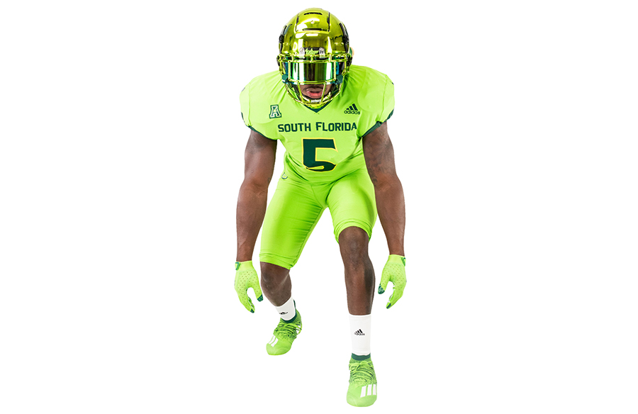 USF Bulls Unveil Slime Green Alternate Uniforms