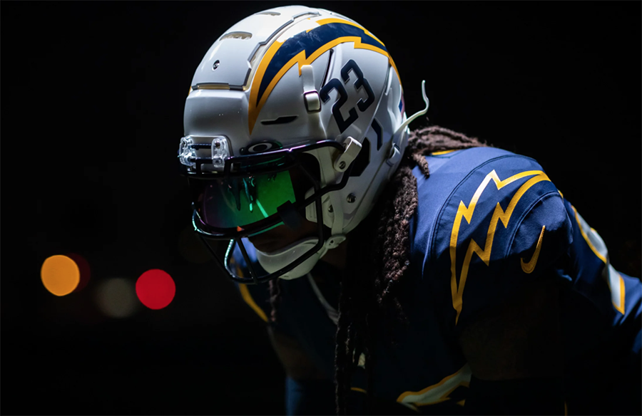 Los Angeles Chargers To Debut Navy Blue Color Rush Uniform