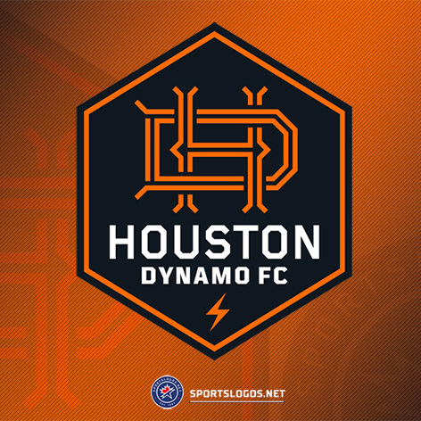 Soccer's Houston Dynamo FC & Dash Both Unveil New Primary Logos