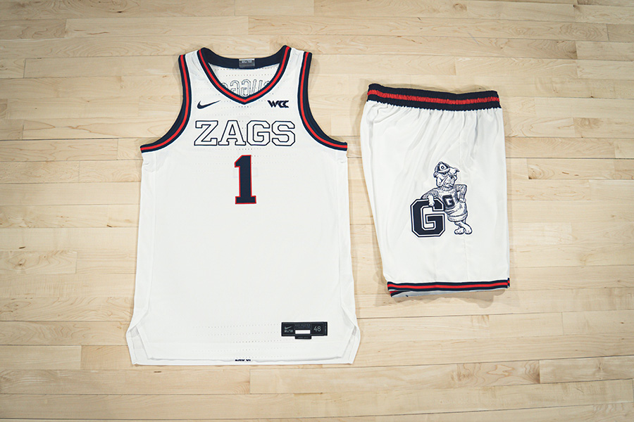 Gonzaga Bulldogs Unveil 1999 Fauxback Uniforms