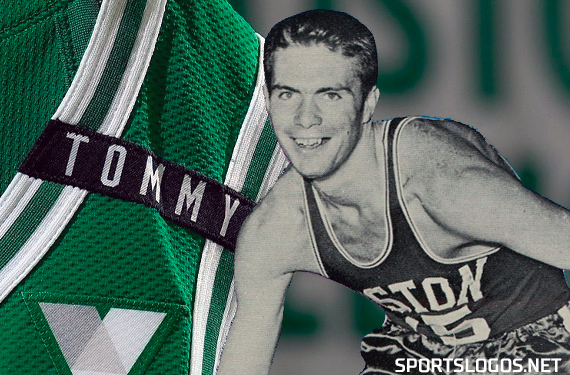 "Celtics Wear ""TOMMY"" Patch on Jerseys for 2020-21 Opener"