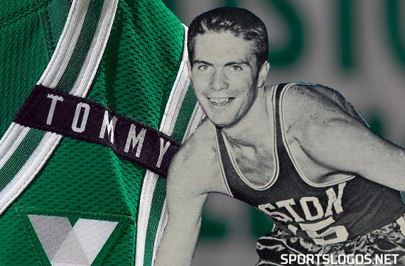 "Celtics Wear ""TOMMY"" Patch on Jerseys for 2020-21 Opener"