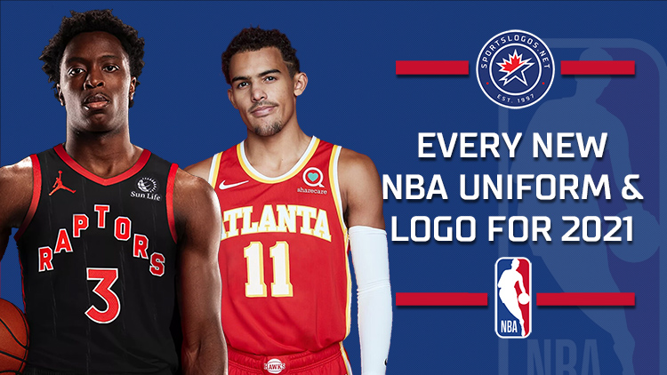 NBA 2020-21 New Uniform and Logo Roundup