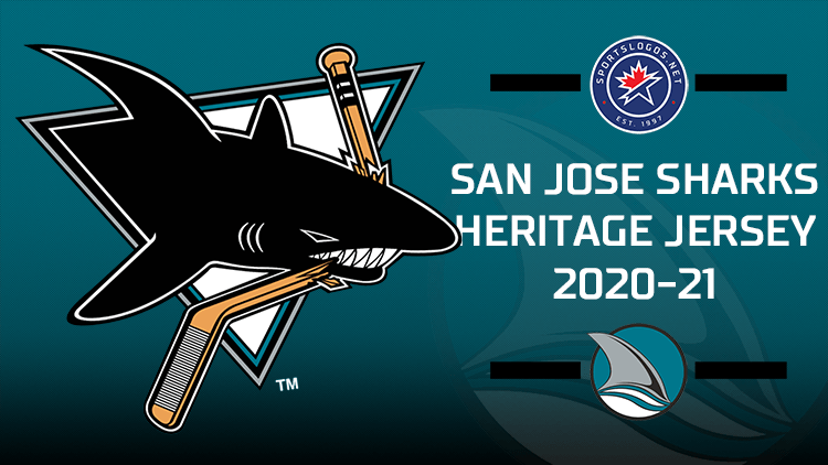 San Jose Sharks to Wear Heritage Jersey in 2021