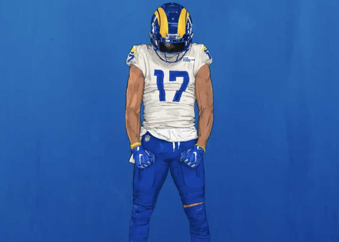 Los Angeles Rams To Wear New Uniform Combination In Playoffs