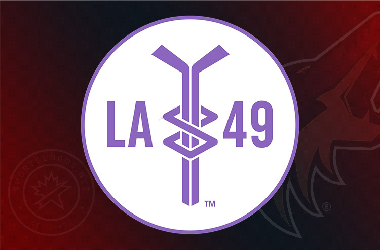 Coyotes Add 'LA49' Decal to Helmets for Leighton Accardo