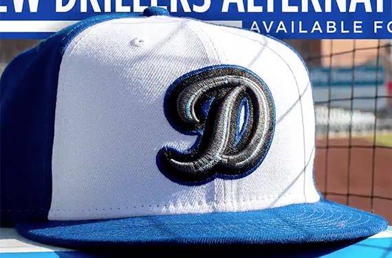 Tulsa Drillers add D logo, alternate cap