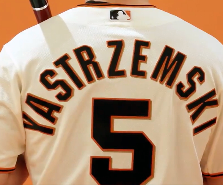 SF Giants Bring Back Player Names to Uniforms