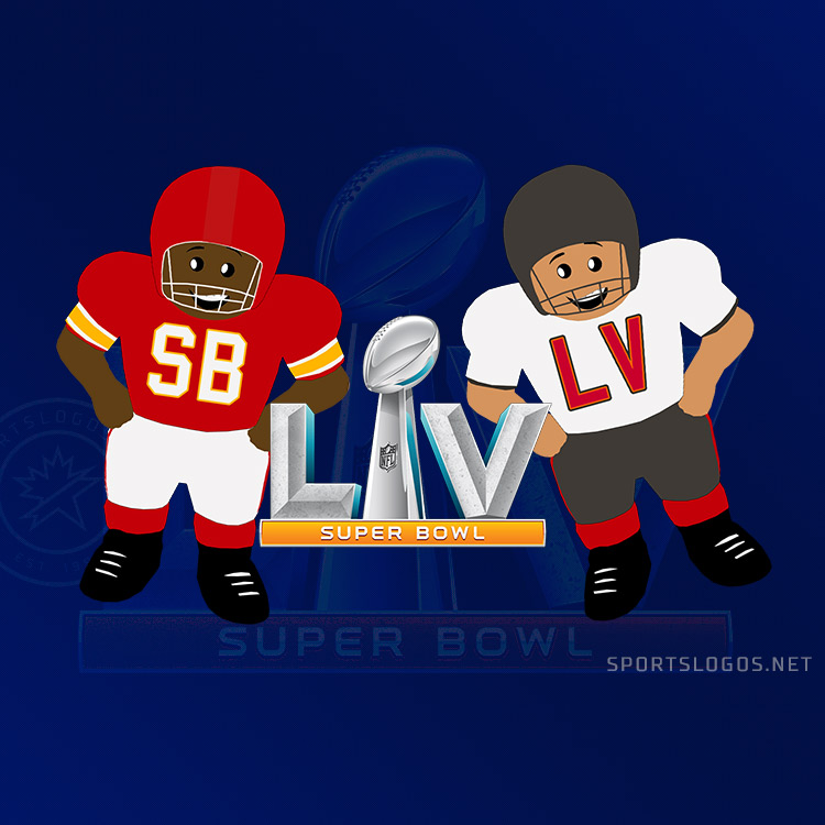 Every Super Bowl Uniform Matchup Ever: Cartoon Edition