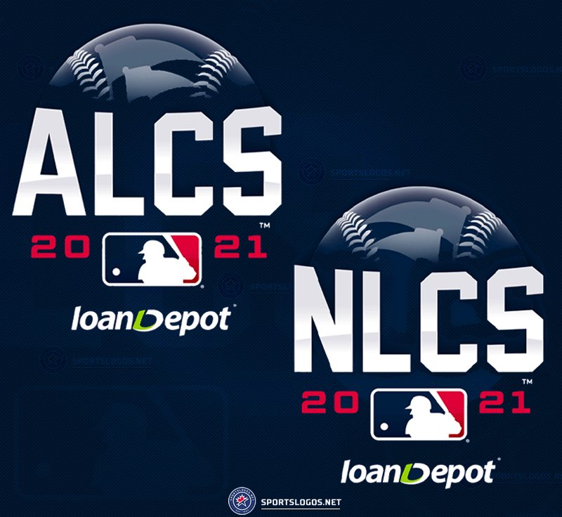 2021 ALCS and NLCS Logos Revealed