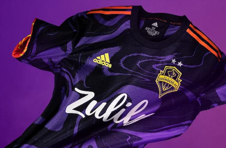 Seattle Sounders FC Unveil Jimi Hendrix-Inspired Secondary Kit