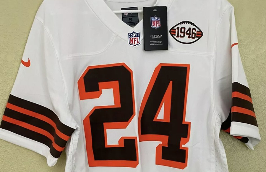 Cleveland Browns' 1946 Throwback Jersey Leaks On eBay