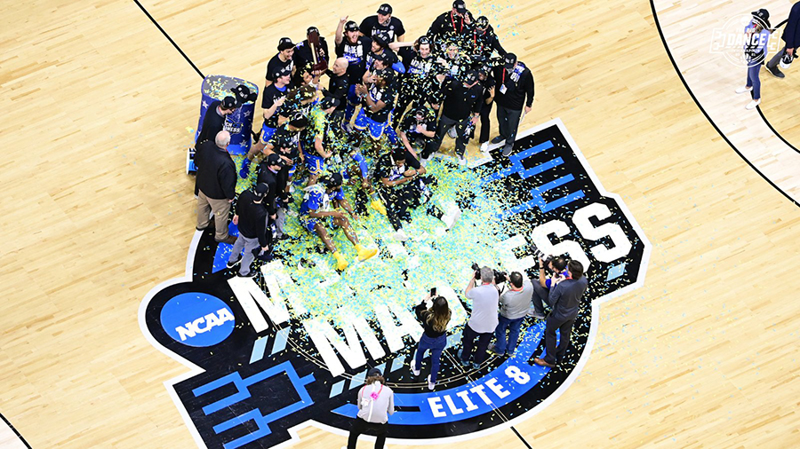NCAA Reveals Court For 2021 Men's Final Four