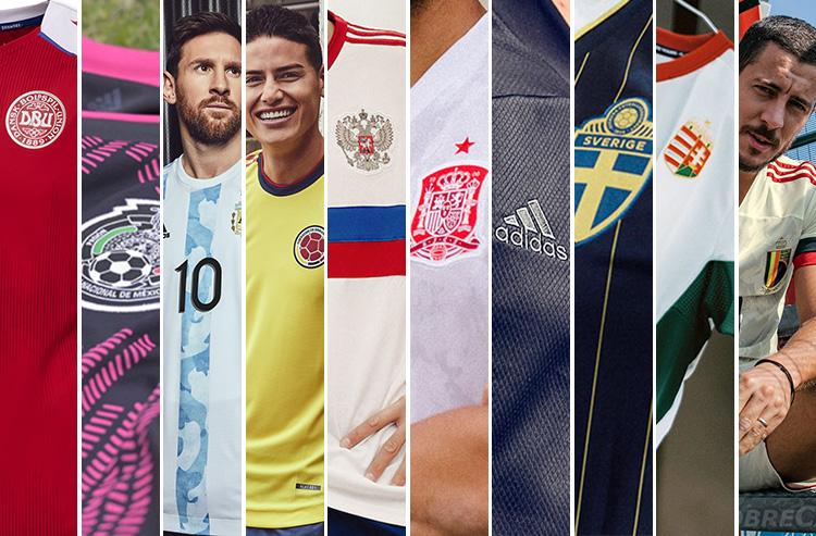 Ten New International Soccer Kits Released This Week