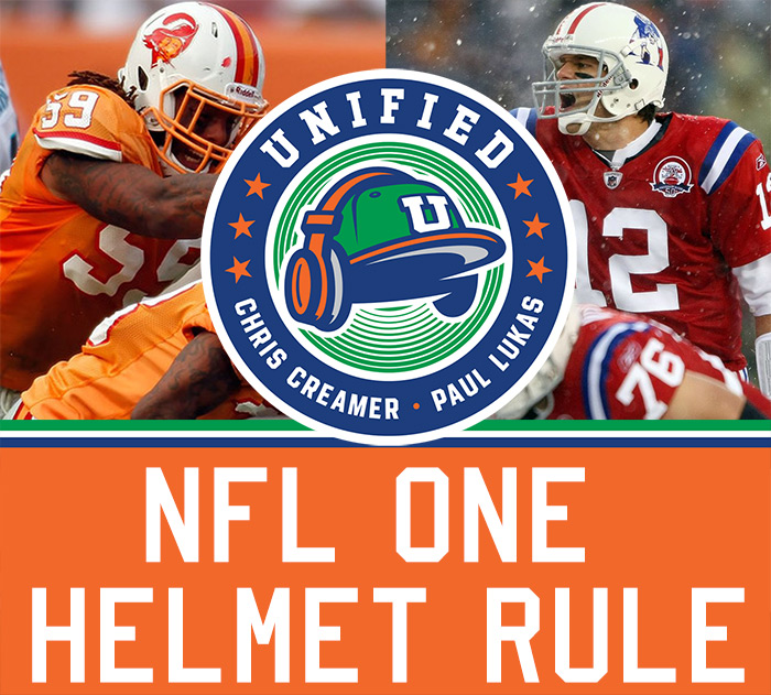 The Unified Show: NFL's One-Helmet Rule