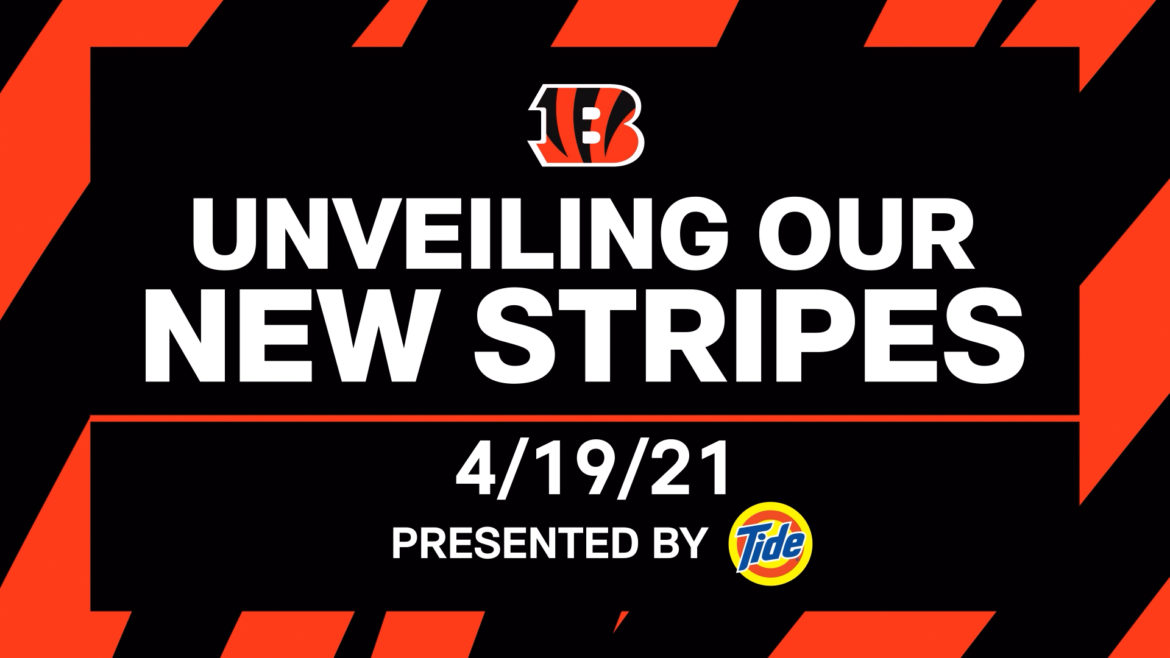 Cincinnati Bengals To Reveal New Uniforms On April 19