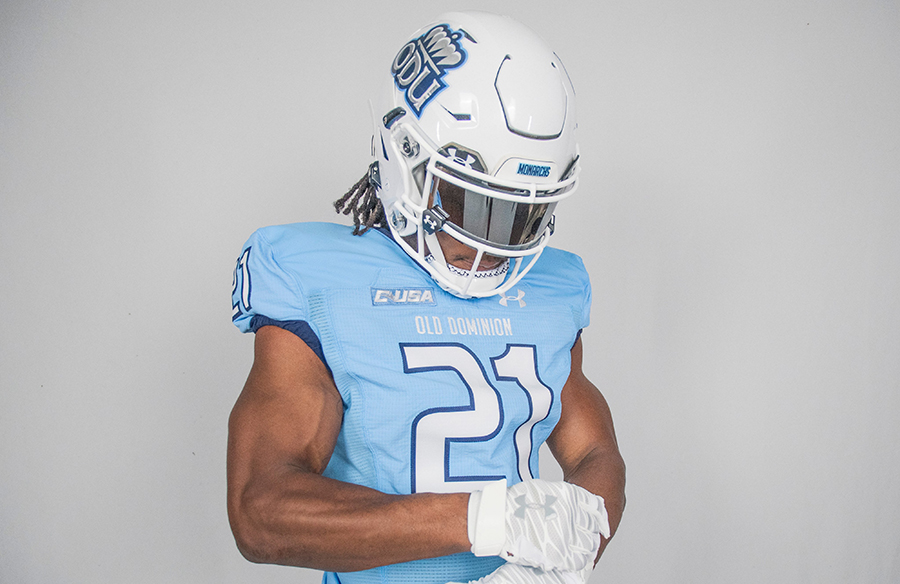 "Old Dominion Monarchs Unveil ""Carol Hudson Blue"" Football Uniforms"