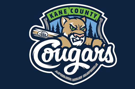Kane County Cougars update primary logo to reflect history
