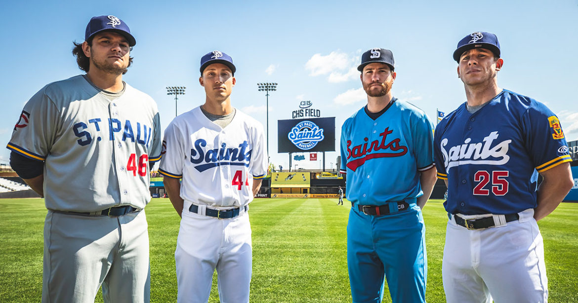 New St. Paul Saints Uniforms Pay Tribute to Twins Affiliation