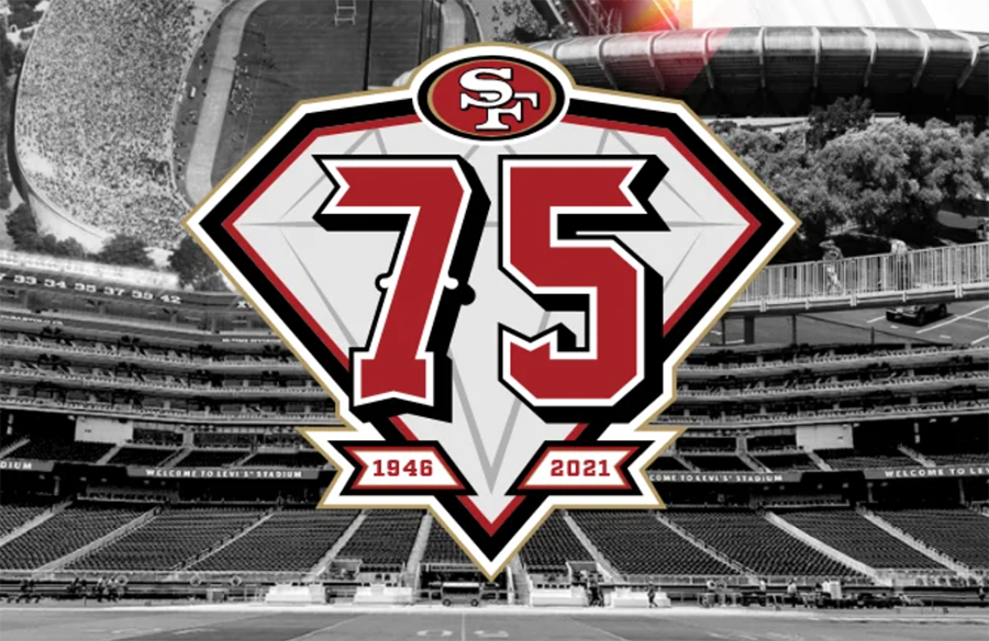San Francisco 49ers Unveil 75th Anniversary Logo
