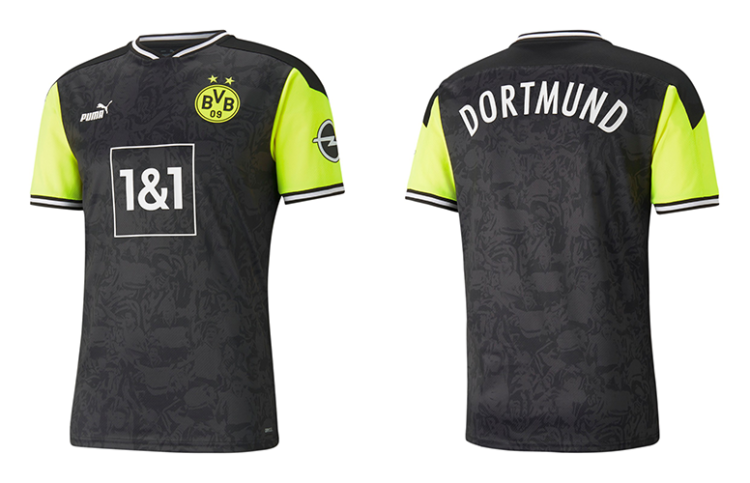 Borussia Dortmund Turn the Clock Back to '90s with Special Jersey ...