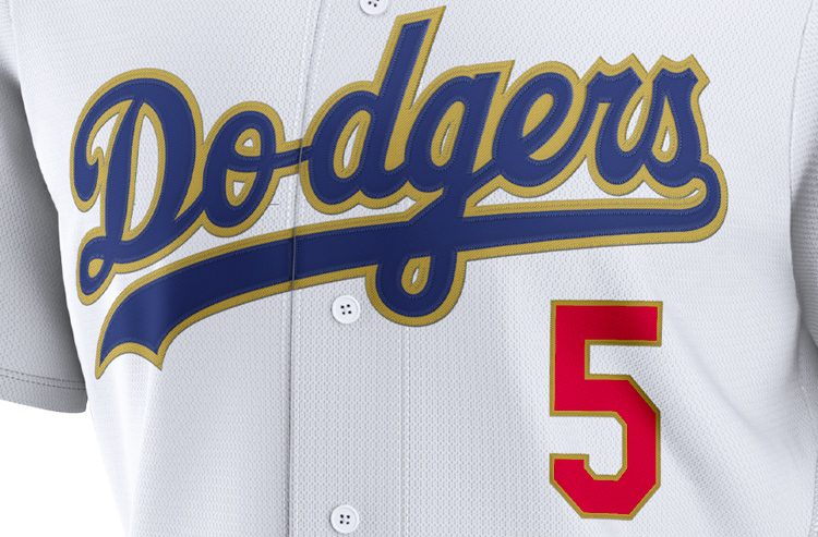 Dodgers Wearing Gold on Opening Day to Celebrate World Series Title