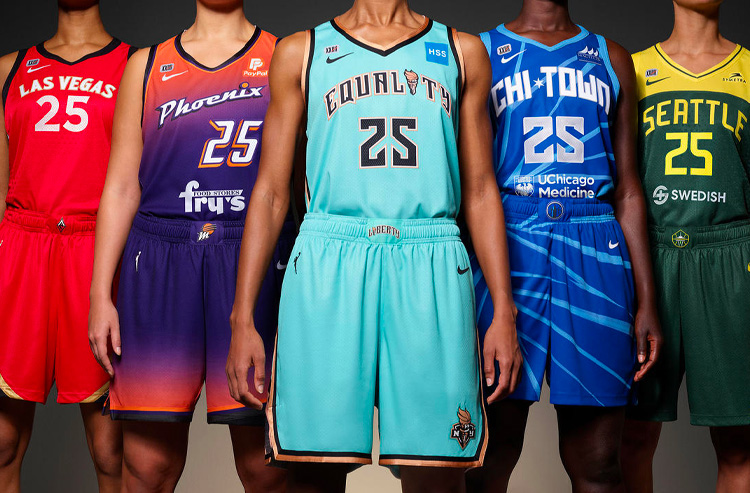A Detailed Look at The New 2021 WNBA Uniforms from Nike