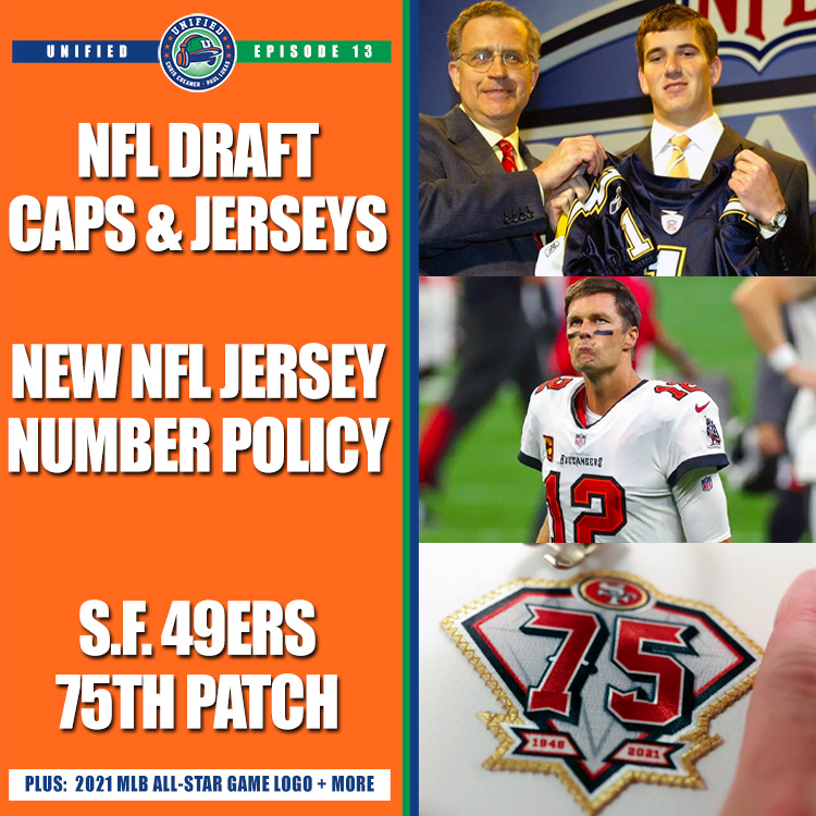 Unified: NFL Draft Caps, Jerseys, Numbers and Patches
