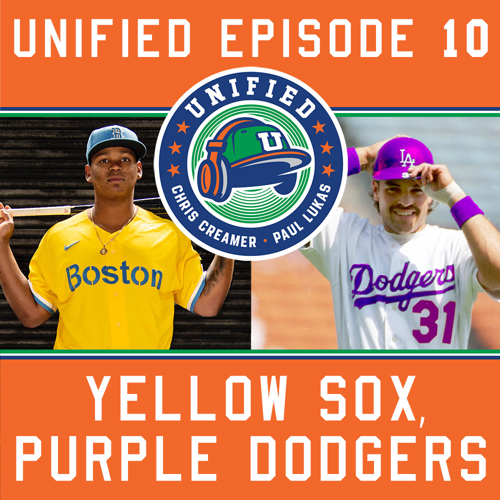 The Unified Show: Yellow Sox! Purple Dodgers?
