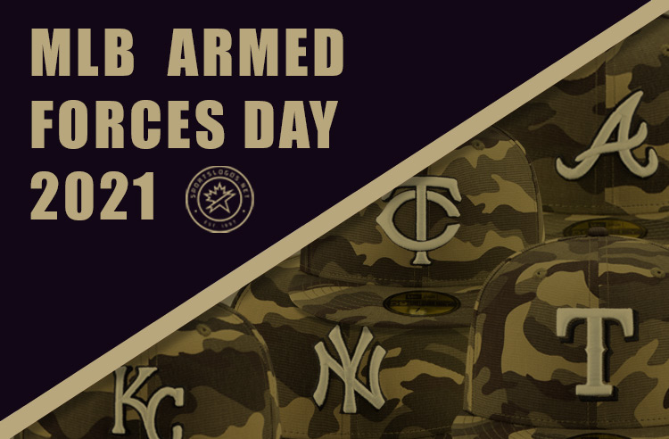 Camouflage Across MLB All Weekend for 2021 Armed Forces Day