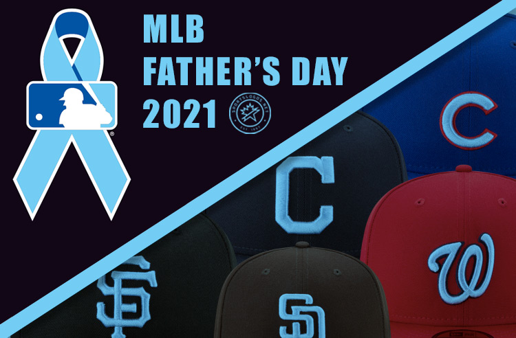 Blue Ribbons, Blue Logo Caps Worn Across Baseball for Father's Day 2021