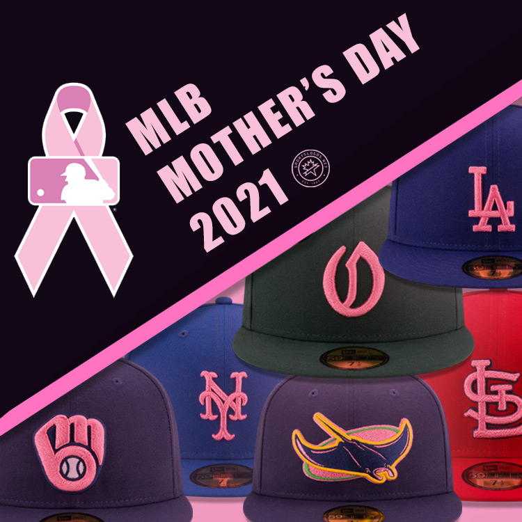 Think Pink! Baseball Players Wearing Pink Caps, Socks for Mother's Day 2021