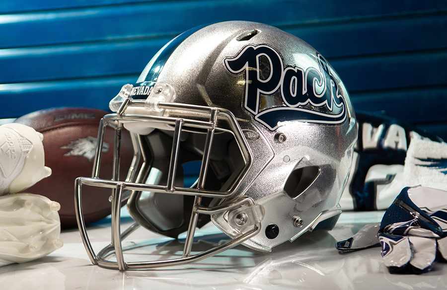 Nevada Wolf Pack Unveil Two New Helmet Options For 2021 Season