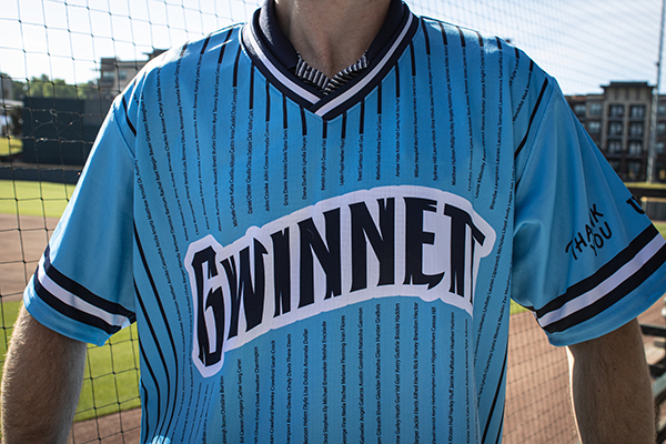 Gwinnett Stripers to honor frontline workers with special jerseys