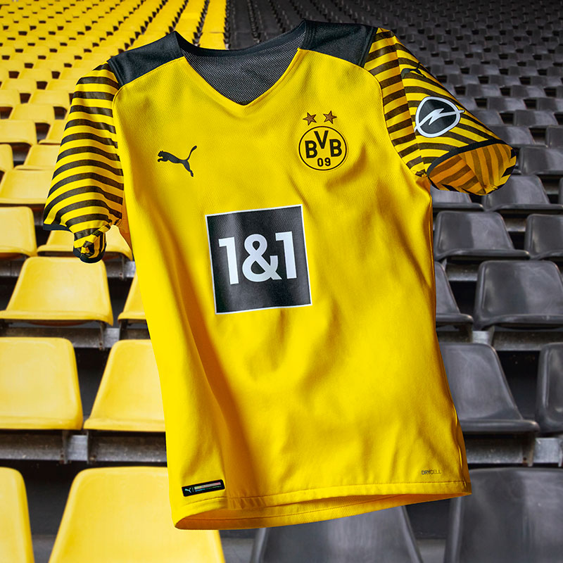 Borussia Dortmund Brings It All Together for 2021-22 Home Kit